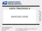 USPS label
